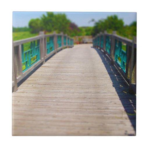 El puente en Powell cultiva un huerto Kansas City Azulejo Cerámica