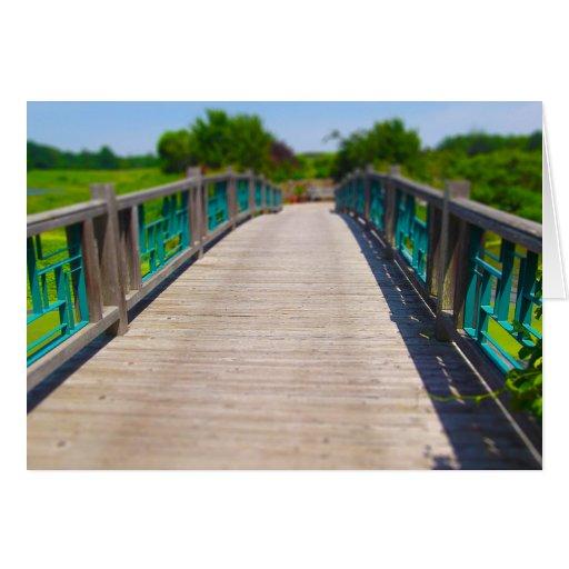 El puente en Powell cultiva un huerto Kansas City Felicitacion