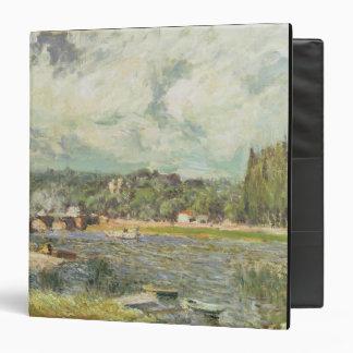 """El puente en Sevres, c.1877 (aceite en lona) Carpeta 1 1/2"""""""