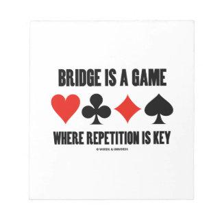 El puente es un juego donde está llave la bloc