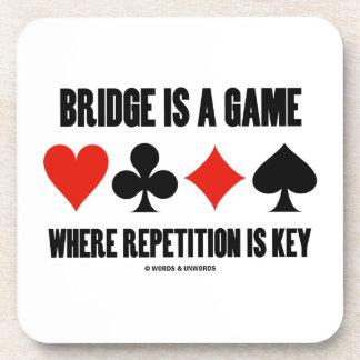 El puente es un juego donde está llave la posavasos