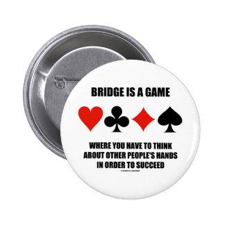 El puente es un juego donde usted tiene que pensar pin