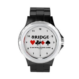 El puente es un juego intelectual (cuatro juegos reloj