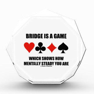 El puente es un juego que muestra cómo mentalmente