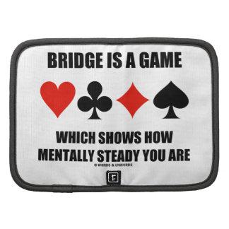 El puente es un juego que muestra cómo mentalmente planificadores