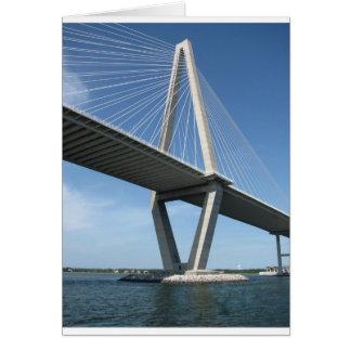 El puente hermoso de Ravenel Felicitacion