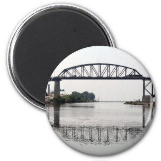 El puente internacional de la paz iman para frigorífico