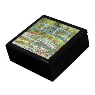 El puente japonés Claude Monet 1899 Caja De Recuerdo