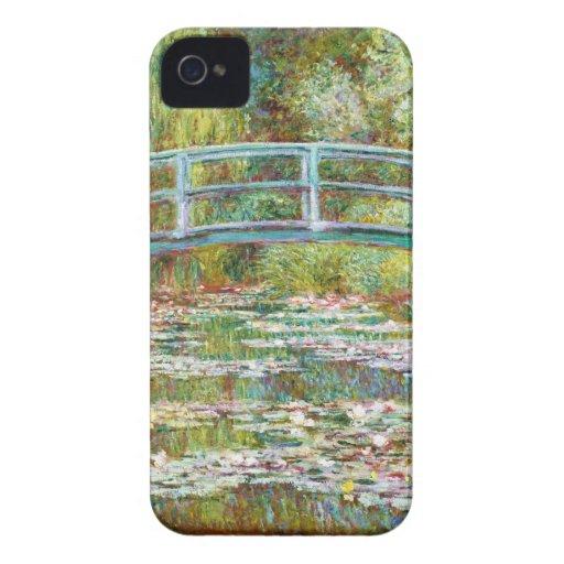 El puente japonés Claude Monet 1899 Case-Mate iPhone 4 Cobertura
