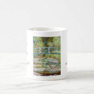 El puente japonés Claude Monet 1899 Taza De Café