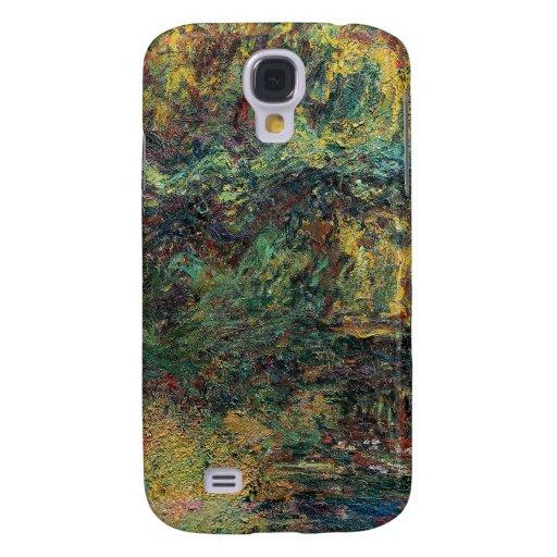 El puente japonés - Claude Monet Funda Para Galaxy S4