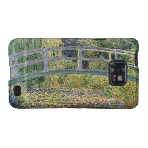 El puente japonés de Claude Monet Galaxy S2 Fundas