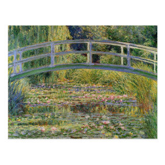 El puente japonés de Claude Monet Tarjeta Postal