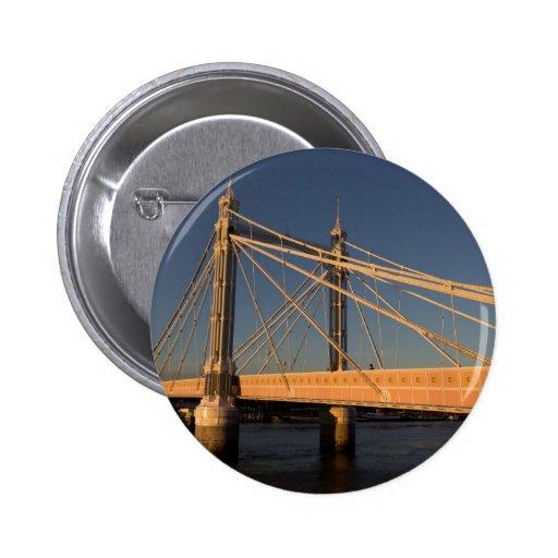 El puente Londres de Albert Pin Redondo De 2 Pulgadas