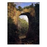 El puente natural, Virginia de Frederick Edwin Ch Postal