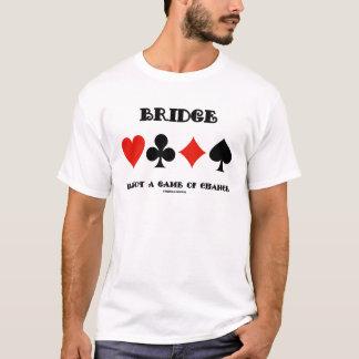 El puente no es un juego de azar (cuatro juegos de playera