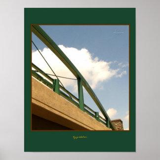 El puente sobre el poster cerca gretchen