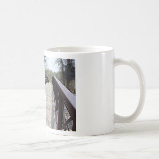 El puente tazas de café