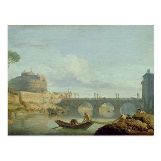 El puente y el castillo Sant'Angelo, 1745 Postales