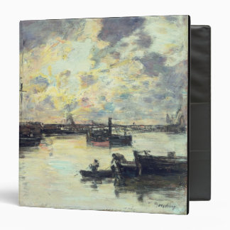 """El puerto, c.1895 (aceite en el panel) carpeta 1 1/2"""""""