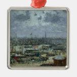 El puerto de Burdeos, 1874 Adorno De Navidad