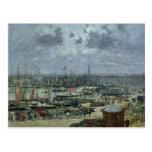 El puerto de Burdeos, 1874 Tarjetas Postales
