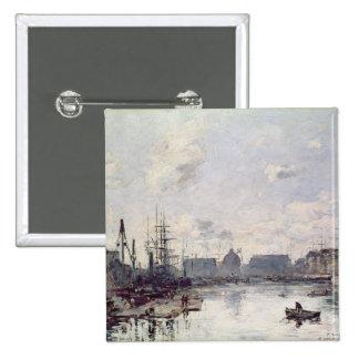 El puerto de comercio, Le Havre, 1892 Pins