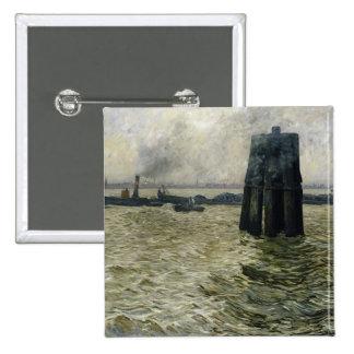 El puerto de Hamburgo, 1894 Pins