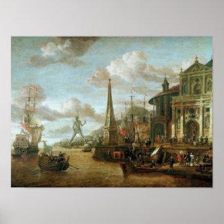 El puerto de Rodas Poster