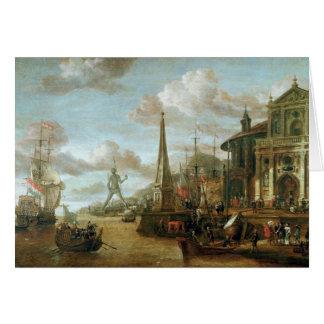 El puerto de Rodas Tarjetón