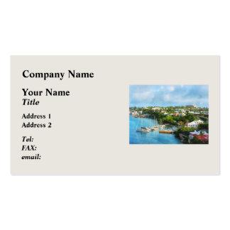 El puerto de San Jorge, Bermudas Tarjetas De Visita