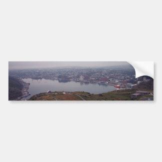 El puerto de San Juan, pegatina para el parachoque Etiqueta De Parachoque