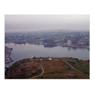 El puerto de San Juan, postal de Terranova
