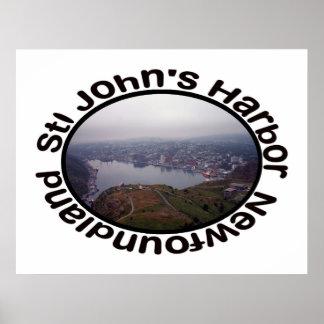 El puerto de San Juan poster de Terranova