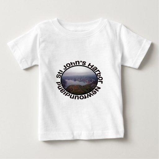 El puerto de San Juan, ropa del bebé de Terranova T Shirts