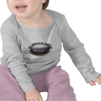 El puerto de San Juan, ropa del bebé de Terranova Camisetas