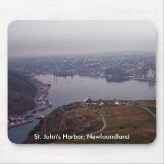 El puerto de San Juan Terranova Mousepad Tapete De Raton