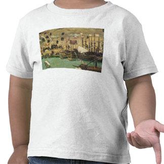 El puerto de Sevilla, c.1590 Camiseta