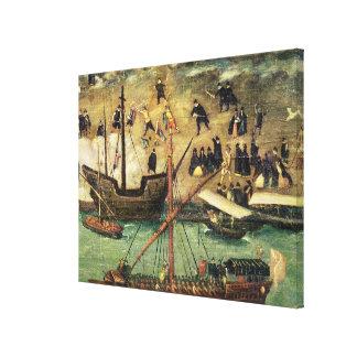 El puerto de Sevilla, c.1590 Impresiones De Lienzo