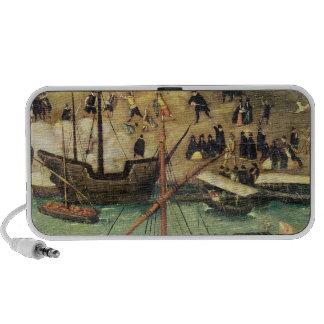 El puerto de Sevilla, c.1590 iPhone Altavoz