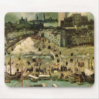 El puerto de Sevilla, c.1590 Tapete De Ratones