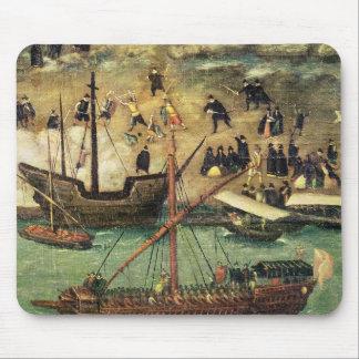 El puerto de Sevilla, c.1590 Alfombrillas De Raton