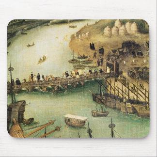 El puerto de Sevilla, c.1590 Tapetes De Raton