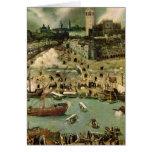 El puerto de Sevilla, c.1590 Tarjetas