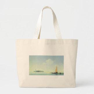 El puerto de Venecia, la isla de San Georgio Bolsa Tela Grande