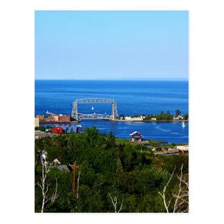 El puerto del horizonte tarjetas postales