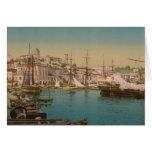 El puerto en Cannes, Francia Tarjeta De Felicitación