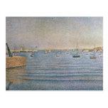 El puerto en Portrieux, 1888 Tarjetas Postales