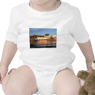 El puerto en Tenby, el Sur de Gales Camiseta