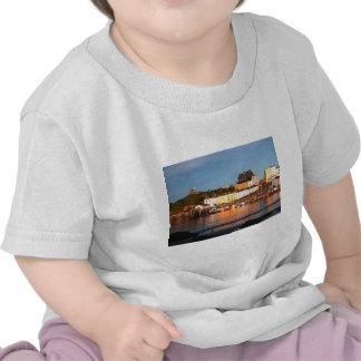 El puerto en Tenby, el Sur de Gales Camisetas